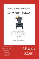 "FALL DRAMA ""GAME OF TIARAS"""