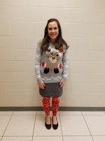 MS Staff Ugly Sweater Contest