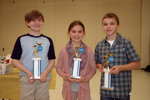 Elementary School Science Fair - Thursday, February 8, 2018 (Photos courtesy of Marsha Hunt & John Zavinski)
