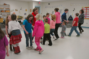 Elementary School Family Learning Night (Photos courtesy of Marsha Hunt and John Zavinski)