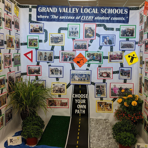 Grand Valley's Booths at the Ashtabula County Fair