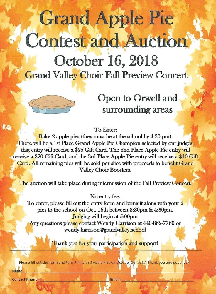 Grand Valley Choir Fall Preview Concert