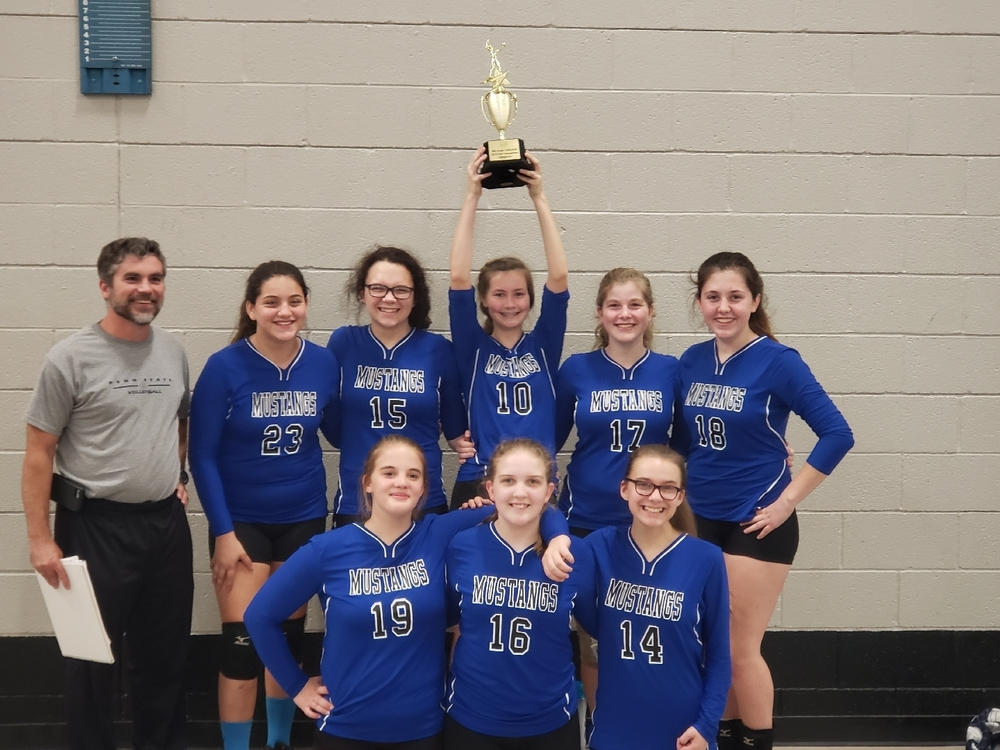 2019 8th Grade CVC Tournament Champs