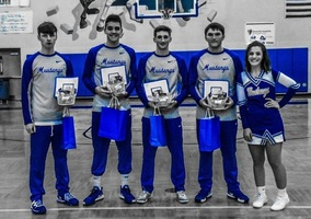 "Boys to Men...""2020 Boys Basketball Senior Night"""