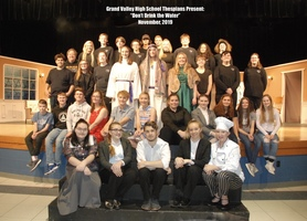 GVHS Thespians Cast & Crew 'Don't Drink the Water'