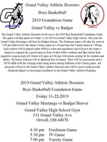2019 Boys Basketball Foundation Game