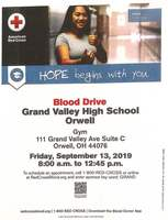 Blood Drive at GVHS