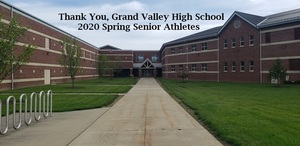 2020 Grand Valley Spring Senior Athlete Salute