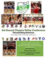 2019 CVC Cheerleading Showcase