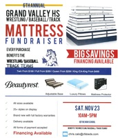 6th Annual GVHS Wrestling/Baseball/Track Mattress Fundraiser