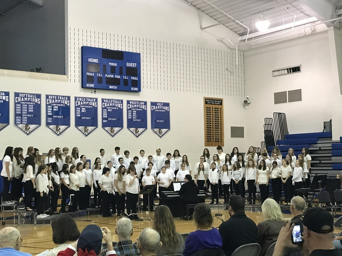 7th & 8th grade choir