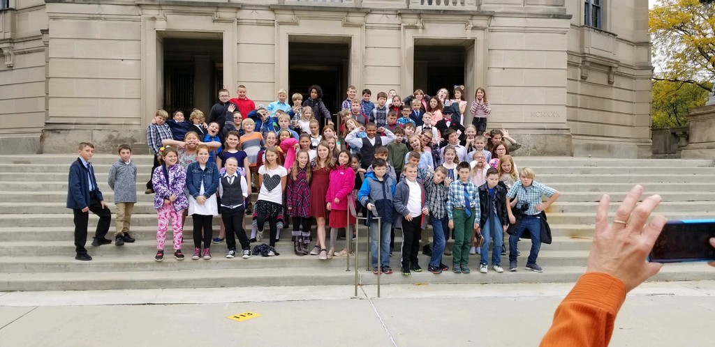 The 4th grade students at Severance Hall.