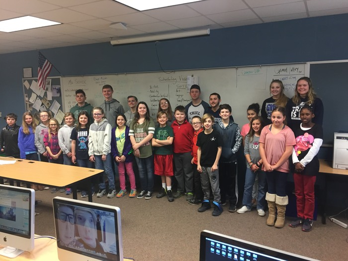 Interactive Multimedia Seniors and GV 5th Graders